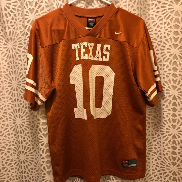 the best attitude f9b19 83891 Vince Young Texas Longhorns Nike Jersey